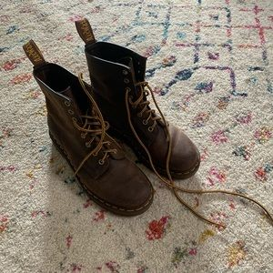 Doc Marten's Leather Boots